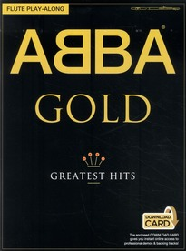 Abba - gold - flute play-along (book/audio download)