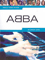 Really easy piano ABBA PF BK