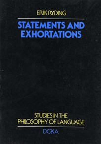 Statements and exhortations - Erik Ryding