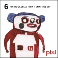 6 Pixiböcker av Nina Hemmingsson