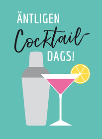 Äntligen cocktaildags!