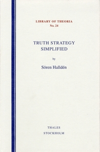 Truth strategy simplified - Sören Halldén
