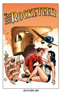 The Rocketeer av Dave Stevens